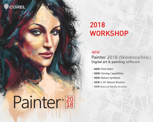 Corel Painter 2018 Advanced Painter